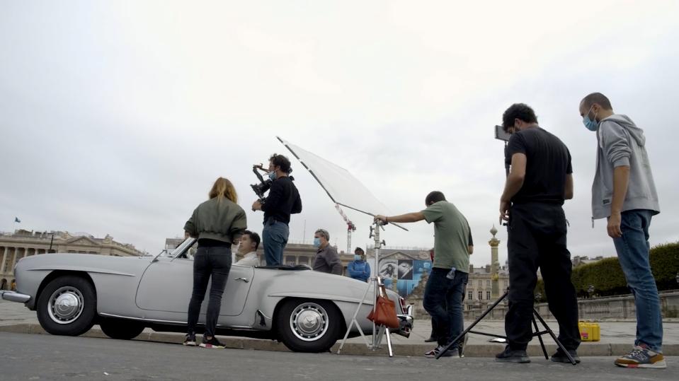 Making of tournage l'Oreal